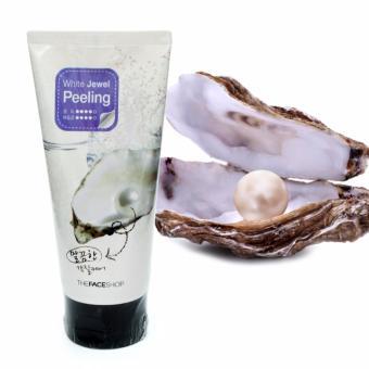 Kem Tẩy Da Chết Ngọc Trai Sáng Mịn Làn Da 120ml -White Jewel Peeling