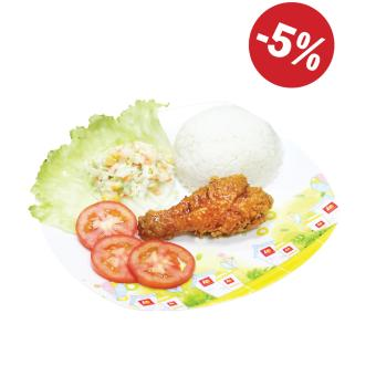 LOTTERIA SOY BEAN CHICKEN RICE