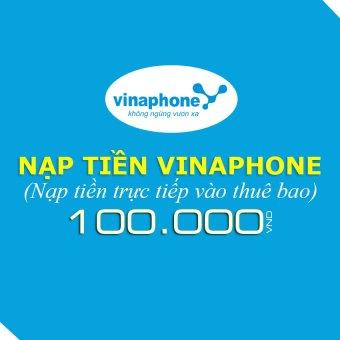 Nạp tiền Vinaphone 100.000