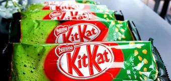 Bộ 3 bịch chocolate Kitkat trà xanh gói 12 thanh* 3