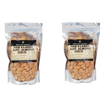 Bộ 2 hạt hạnh nhân cao cấp Royal Nut không vỏ size đại 500g