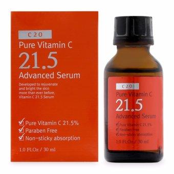 Tinh chất Vitamin C trị mụn làm mờ vết thâm OST C 20 Pure Vitamin C 21.5 Advanced Serum 30ml