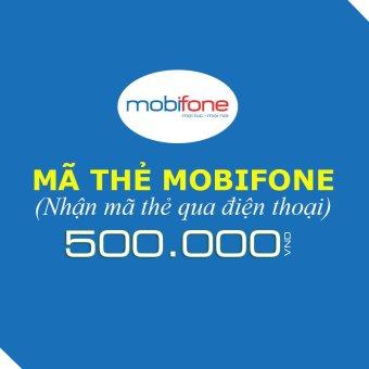 Mã thẻ Mobifone 500.000
