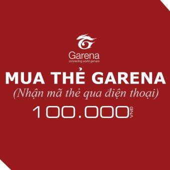 Mã thẻ Game Garena 100.000