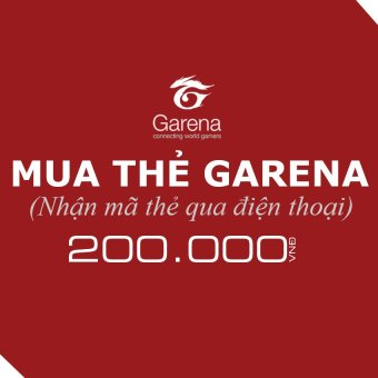 Mã thẻ Game Garena 200.000