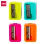 Gọt chì mini DELI - Hồng/Xanh dương/Xanh lá/Cam - Combo 4 chiếc màu ngẫu nhiên - E0594