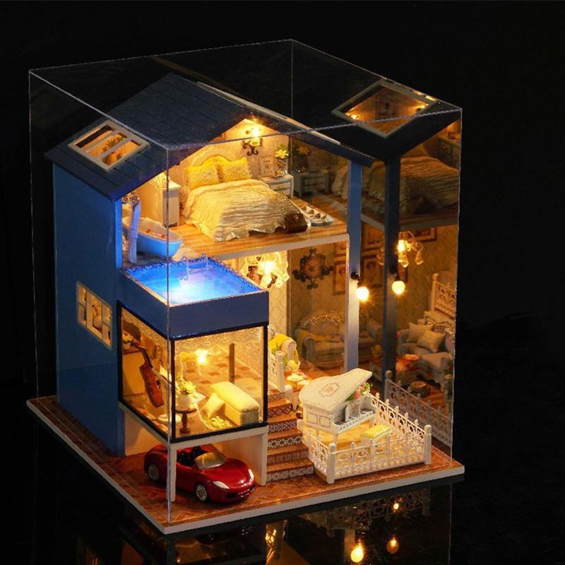 Hình ảnh Nhà búp bê Seattle DiyDollHouse