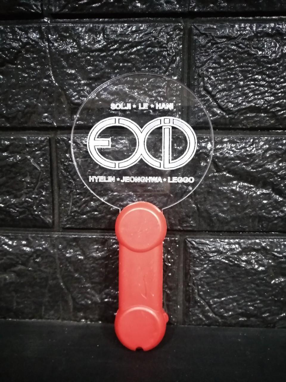 Lightstick EXID bản mỏng gậy cổ vũ ánh sáng hòa nhạc phát sáng nhóm nhạc idol Hàn quốc tặng ảnh