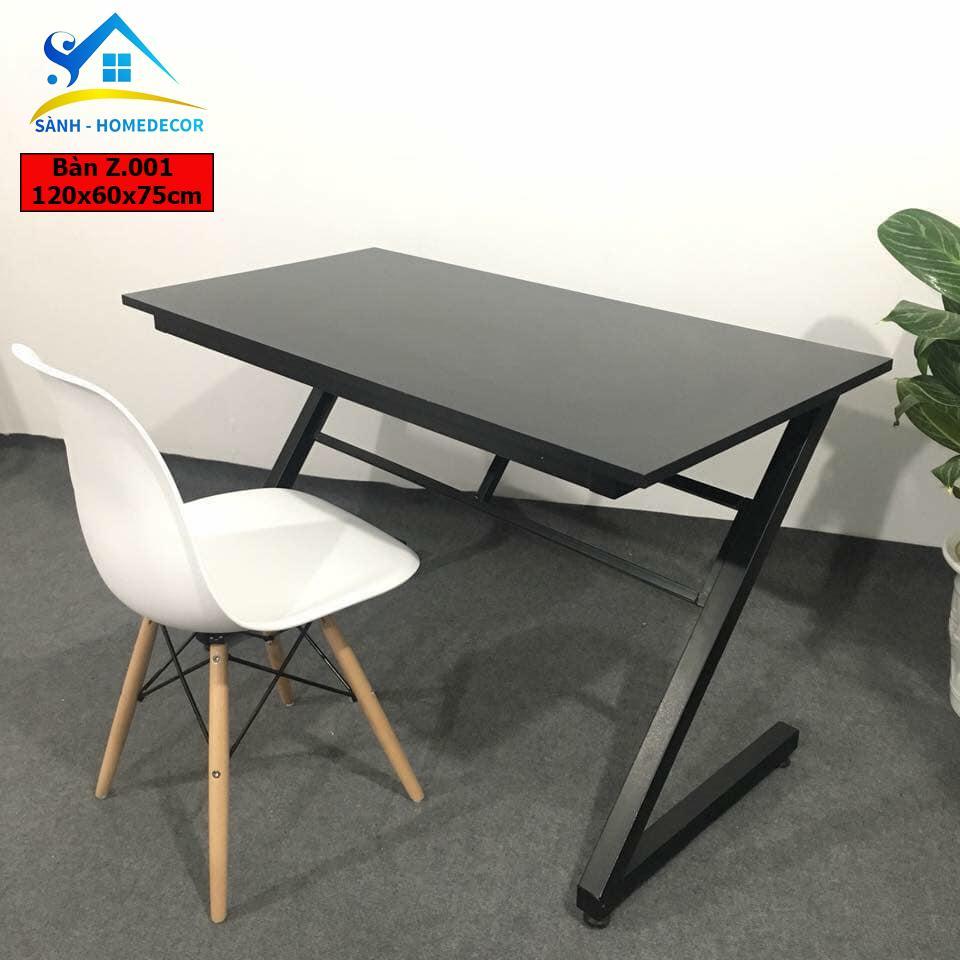 COMBO Bàn làm việc và ghế Eames , bàn học, bàn gaming , ban lam viec, ban hoc, ban gming, bàn chân Z chất lượng cao Z001