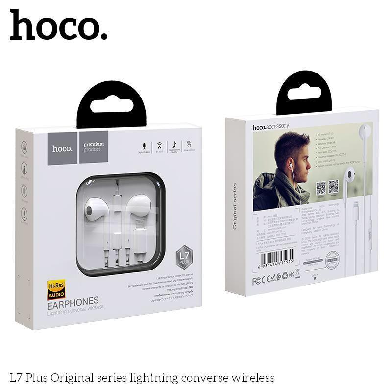 Tai Nghe Dây Hoco L7 Plus chân Lightning