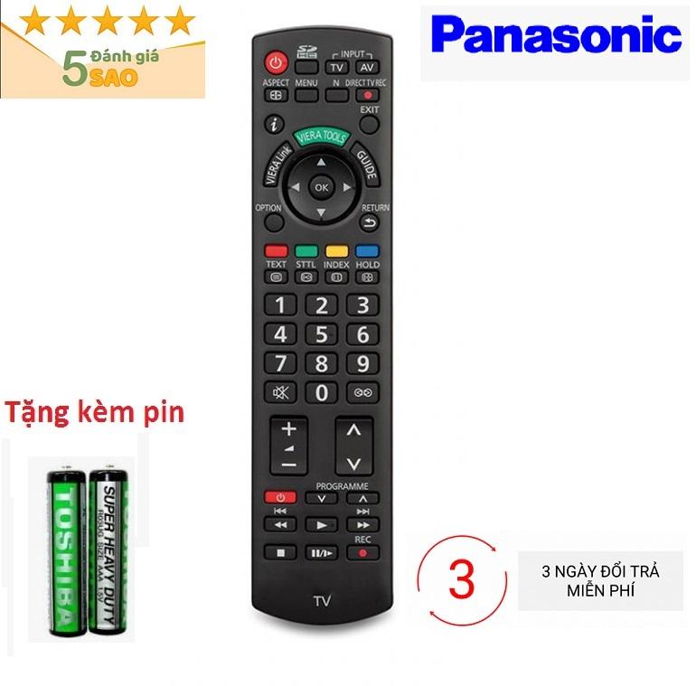 Điều Khiển TiVi Panasonic RM-D920 loại tốt thay thế khiển zin theo máy - tặng kèm pin chính hãng - Remote Panasonic D920 - Remote tivi Panasonic RM-D920 đầu bấm tivi loại tốt chất lượng ổn thay thế khiển theo máy - Bảo hành 3 tháng 1