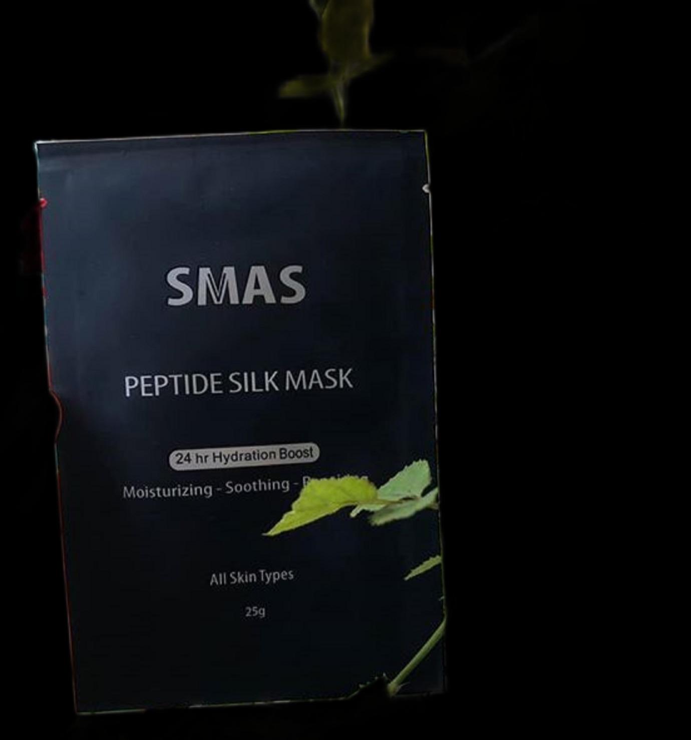 Mặt Nạ #SMAS #Peptide Silk Mask