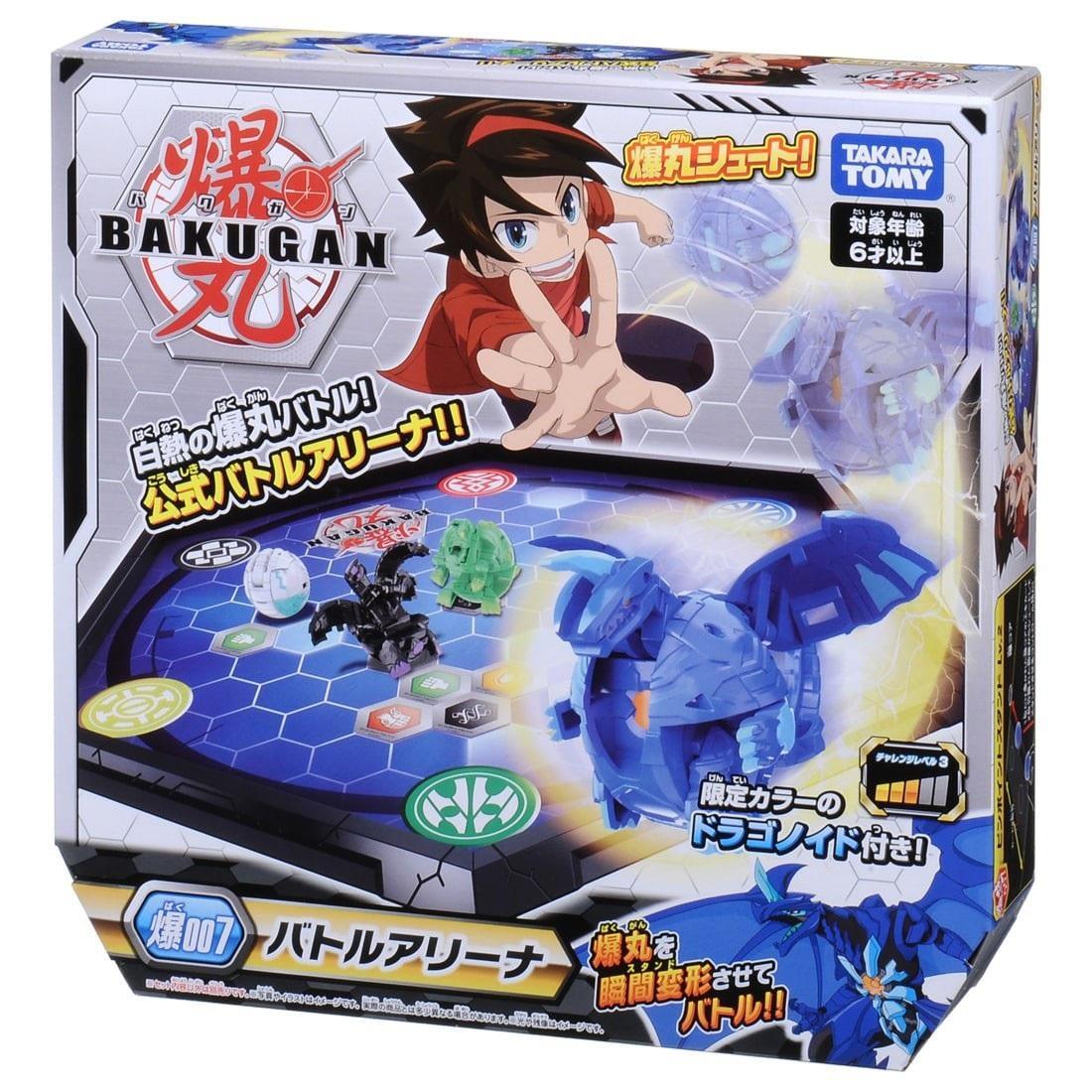 Quyết Đấu Bakugan - Bộ Bàn Đấu Bakugan Và Chiến Binh Rồng Xanh Dragonoid Blue - Baku007