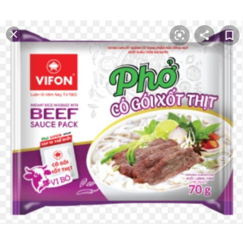 20 gói phở gà, phở bò Vifon mới có gói xốt thịt