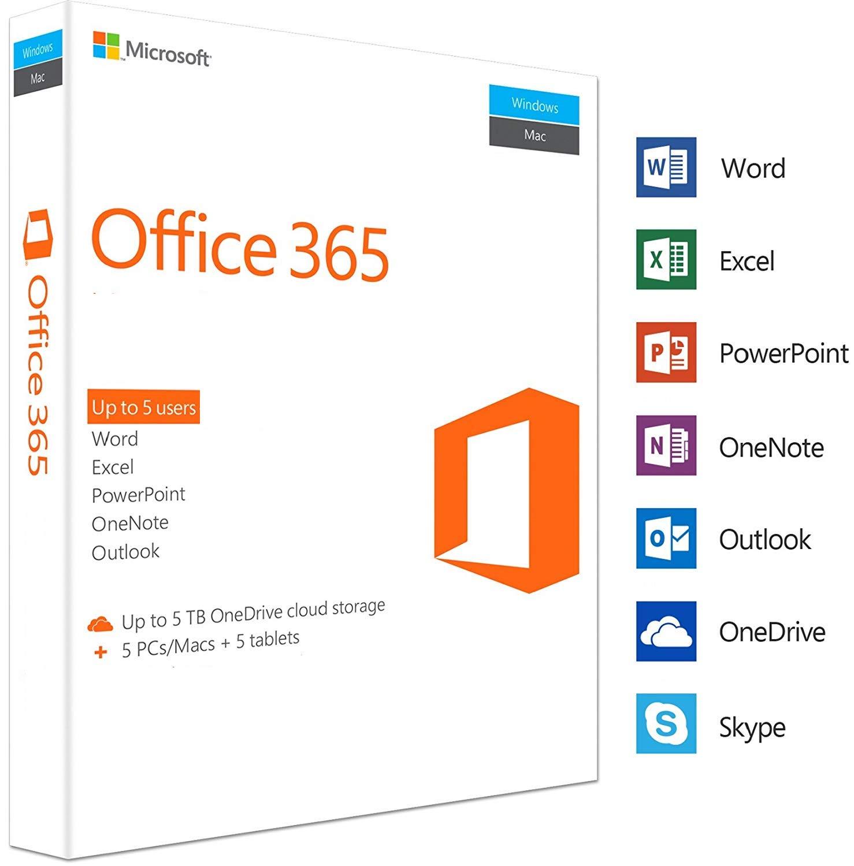 Phần mềm office 365 Pro Plus kèm Onedrive 5TB