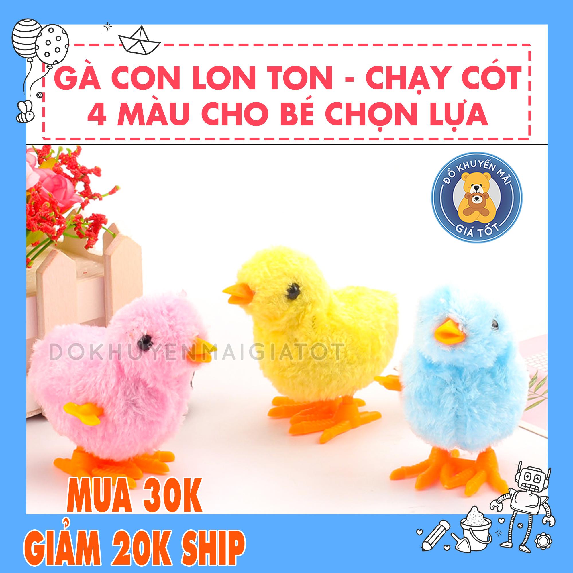 Hình ảnh Đồ chơi cót gà con dễ thương an toàn cho bé yêu - COTGA - Đồ khuyến mãi giá tốt