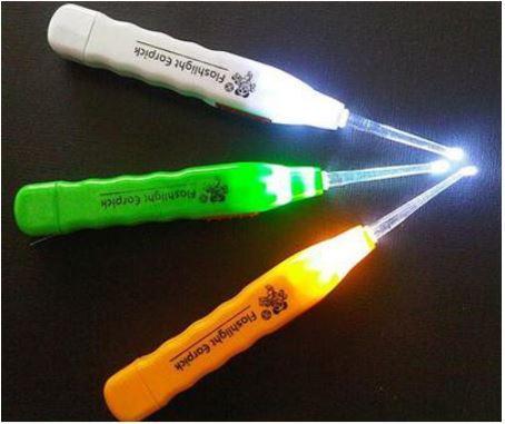 (HÀNG HOT) Dụng cụ lấy Ráy Tai Có Đèn Pin cao Cấp - Sử dụng dễ dàng an toàn cho mọi ngưòi, Đảm bảo vệ sinh sạch sẽ cho đôi tai của bạn 6