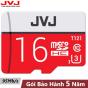 Thẻ nhớ 16G Class 10 U3  JVJ Pro tốc độ cao - thẻ nhớ chuyên dụng camera wifi, camera hành trình , camera, thẻ game, điện thoại  , siêu bền, BH 5 năm, 1 đổi 1,  Samsung, Oppo, Xiaomi, điện thoại android