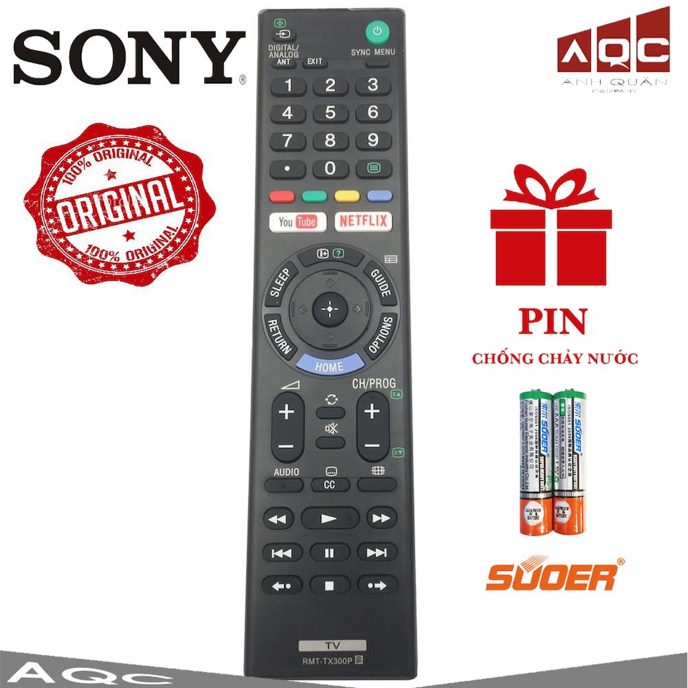 Điều khiển TV Sony Smart đa năng TX300P TẶNG PIN Loại Đẹp Sử dụng cho tất cả các dòng TV SONY SMART 5