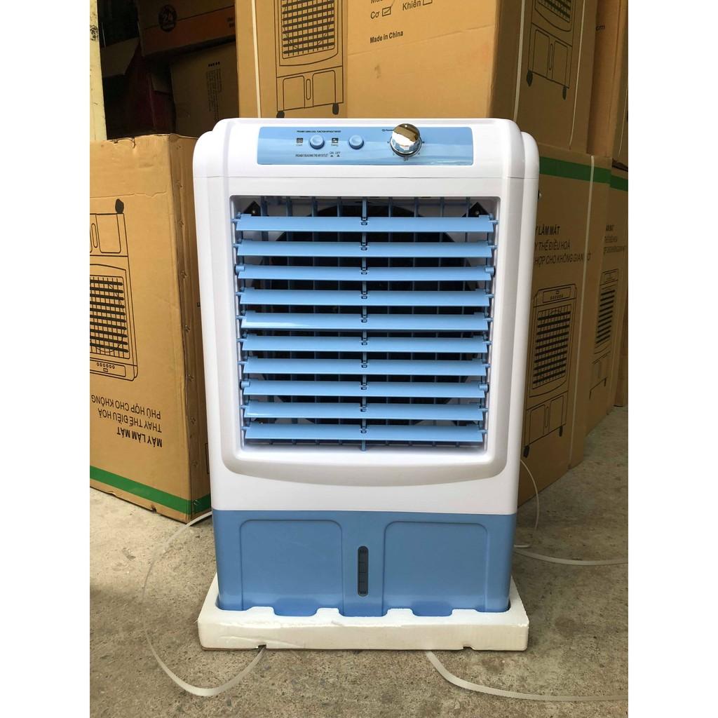 ( cam kết động cơ đồng) Quạt điều hòa tiết kiệm điện 30L cao cấp- Quà tặng 2 viên đá khô- Làm mát bằng hơi nước giúp tiết kiệm điện- Máy làm mát an toàn tiết kiệm điện-Bảo hành 1 năm