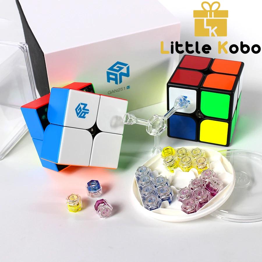 Rubik Gan 251 M Rubik 2x2 Nam Châm Dòng Cao Cấp Flagship Rubik 2 Tầng