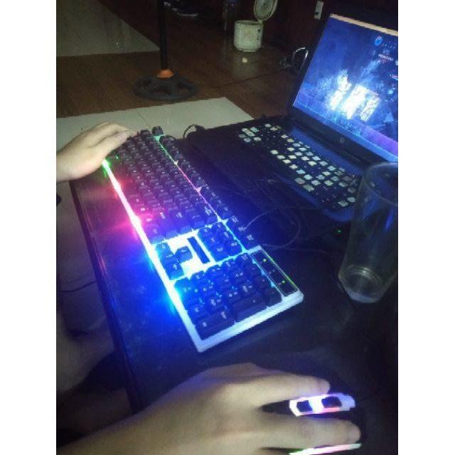 Hình ảnh Bàn Phím Chuột Giả Cơ G21 - Chuyên game - Có đèn LED 7 màu - Cho máy tính, laptop