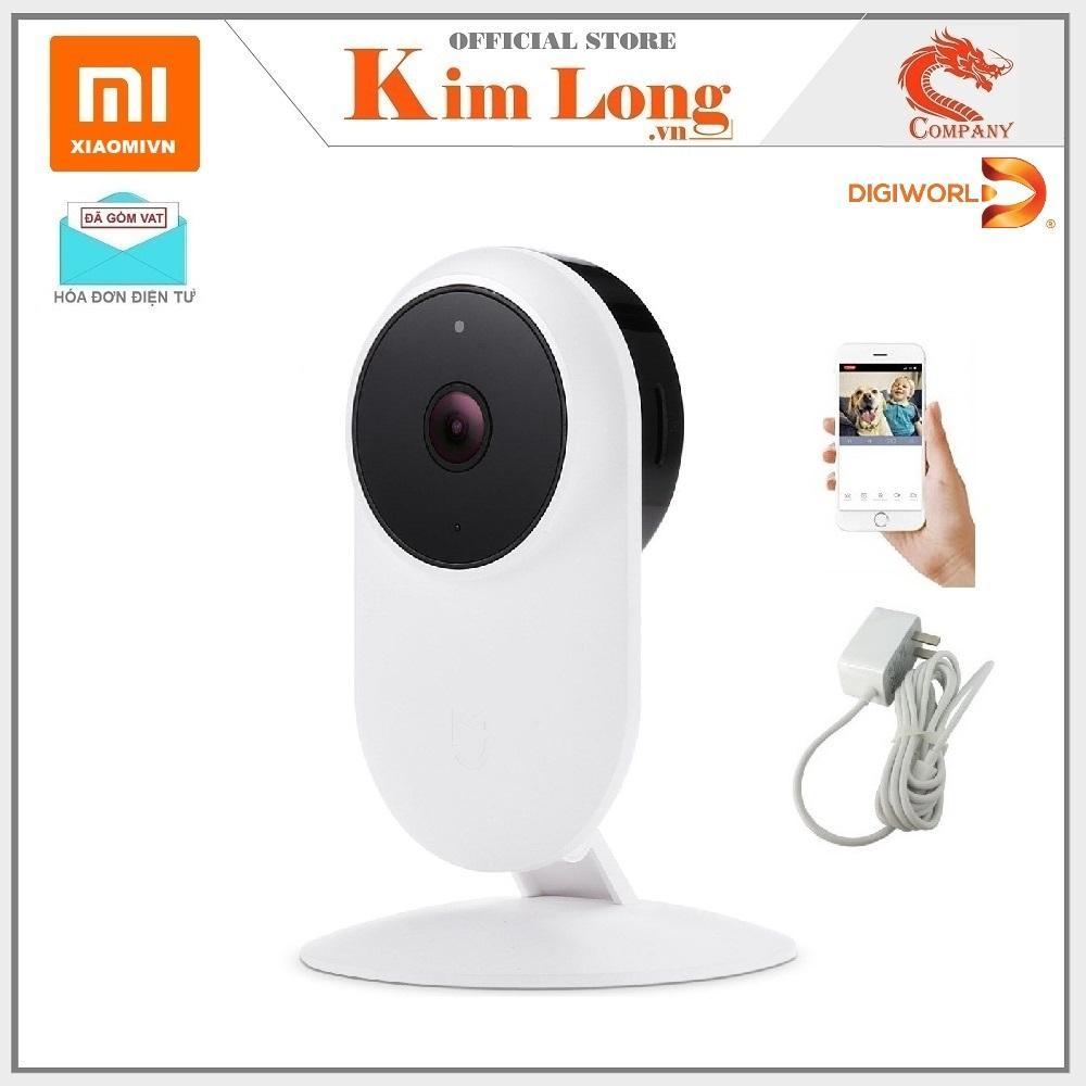 Camera quan sát Xiaomi 1080P Full HD Hồng ngoại, 130 độ , ZRM4037US , Bản quốc tế - Bảo hành 12 tháng chính hãng Digiworld