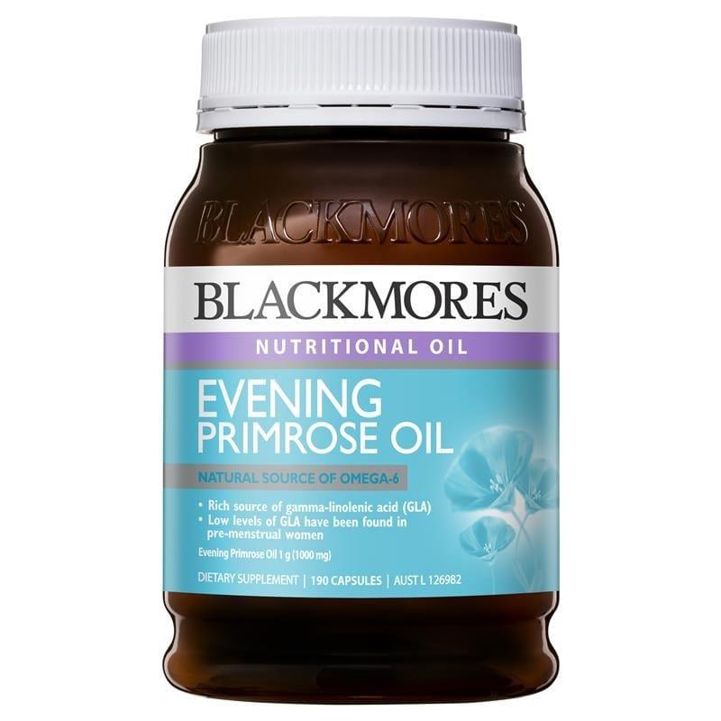 Tinh Dầu Hoa Anh Thảo Blackmores Evening Primrose 190 viên