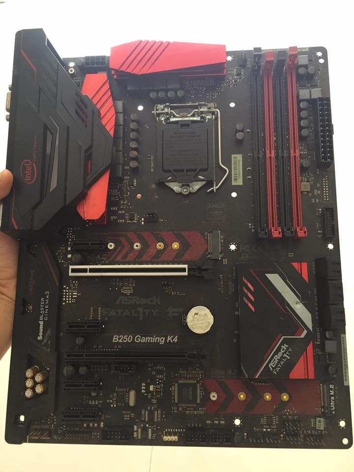 [Trả góp 0%]Combo Main B250 Gaming k4 + CPU G4600 + ram 8gb DDR4 bus 2400 + Tản CPU LED bảo hành 12 tháng lỗi 1 đổi 1