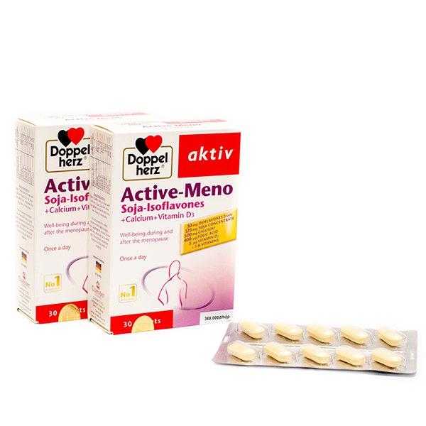 [HCM][Hộp 30 viên] Cân bằng nội tiết tố nữ tăng nội tiết tố nữ tăng estrogen ACTIVE-MENO AKTIV