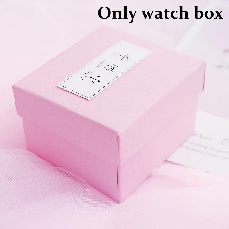 [Hot Bán] Eooshop Tiên hồng Gift Box trí Box Bracelet Box Xem Box Birthday Gift Box 2021 New 5