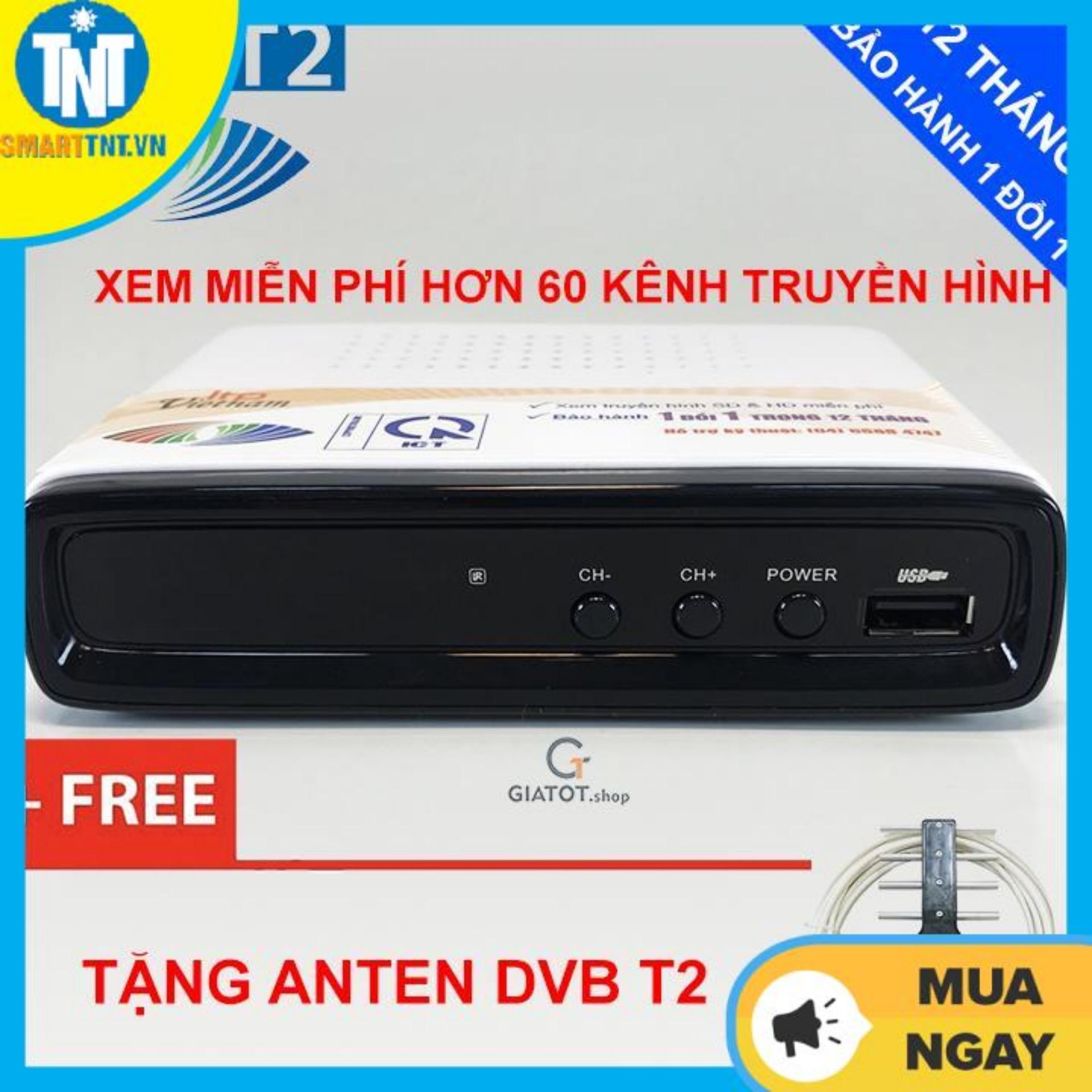 Đầu thu kỹ thuật số DVB T2 LTP STB-1306 tặng Anten DVB T2
