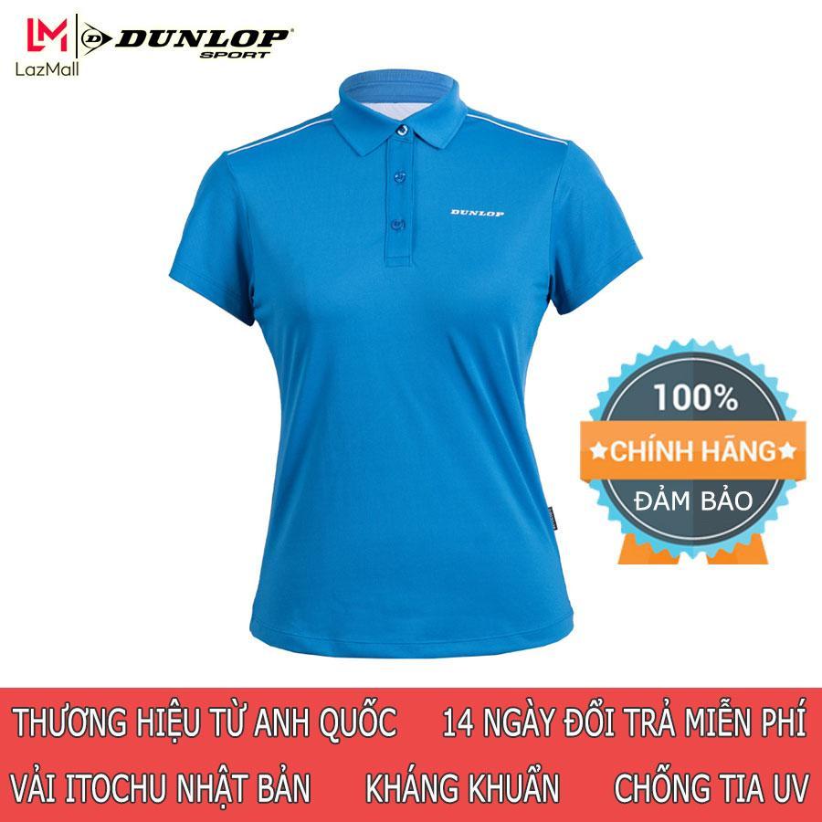 Áo thể thao Nữ Dunlop - DASLS8038-2C-CL Hàng chính hãng Thương hiệu từ Anh Quốc Đổi trả miễn phí