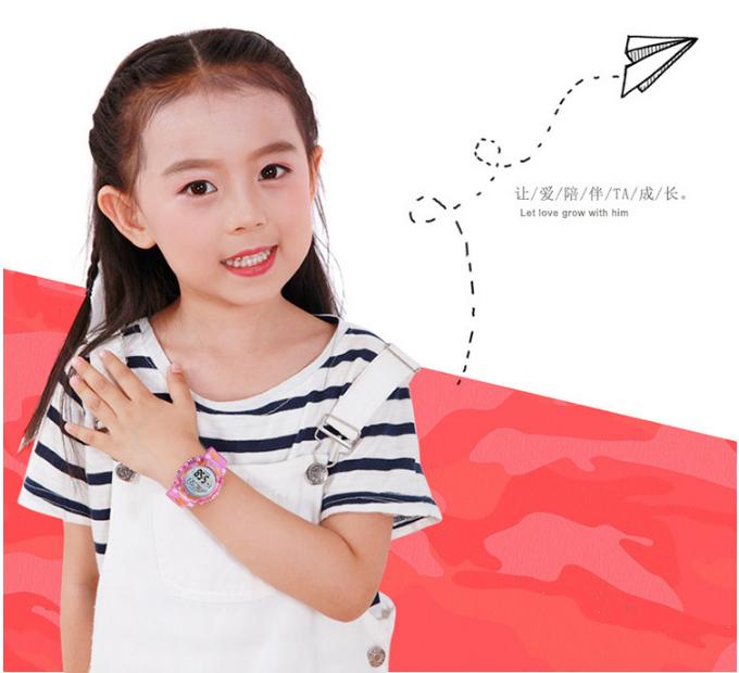 [MIỄN PHÍ GIAO HÀNG] Đồng hồ trẻ em đa chức năng kết hợp hiệu ứng đèn Led chính hãng Coobos, chống trầy xước, chống nước tốt, bảo hành 2 năm 4