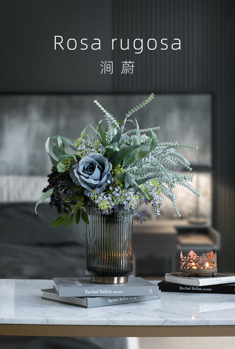 Northern Europe Light Luxury Model Bouquet Rose Living Room Entrance Table Flowers Set Silk Flower Decorations And Ornaments Asian Creative Luxury Art Works Flowers Lazada Ph
