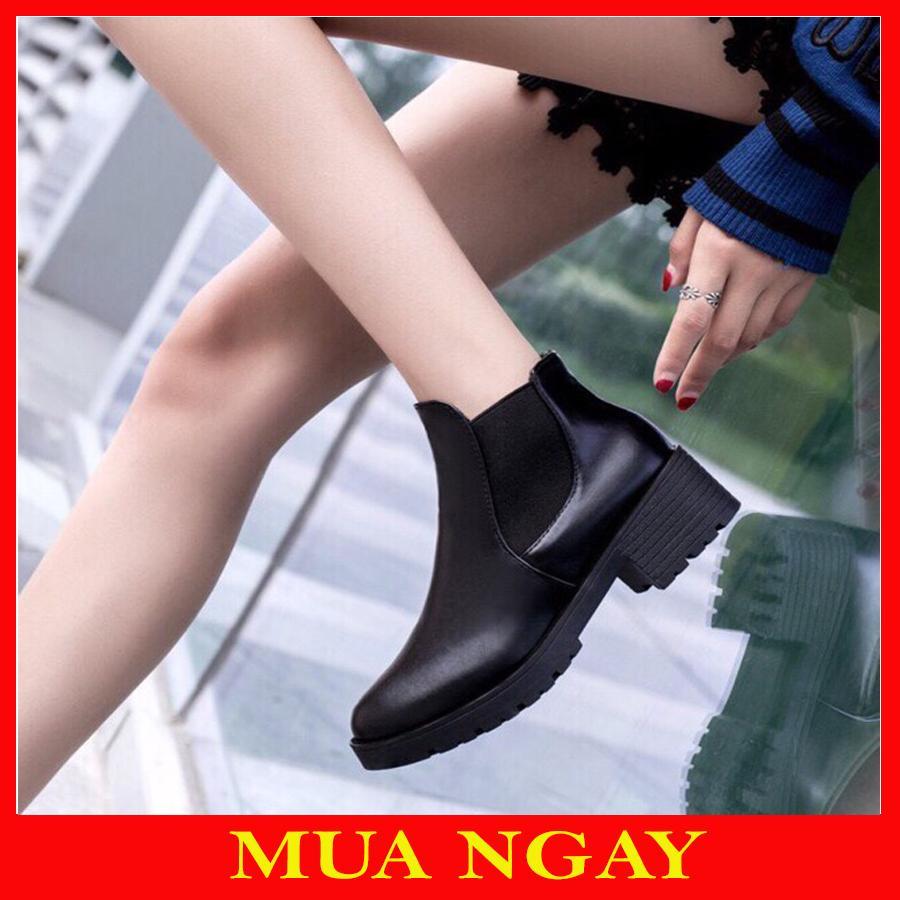 Boot Cổ Chun Thời Trang Cao Cấp Cho Nữ BT1