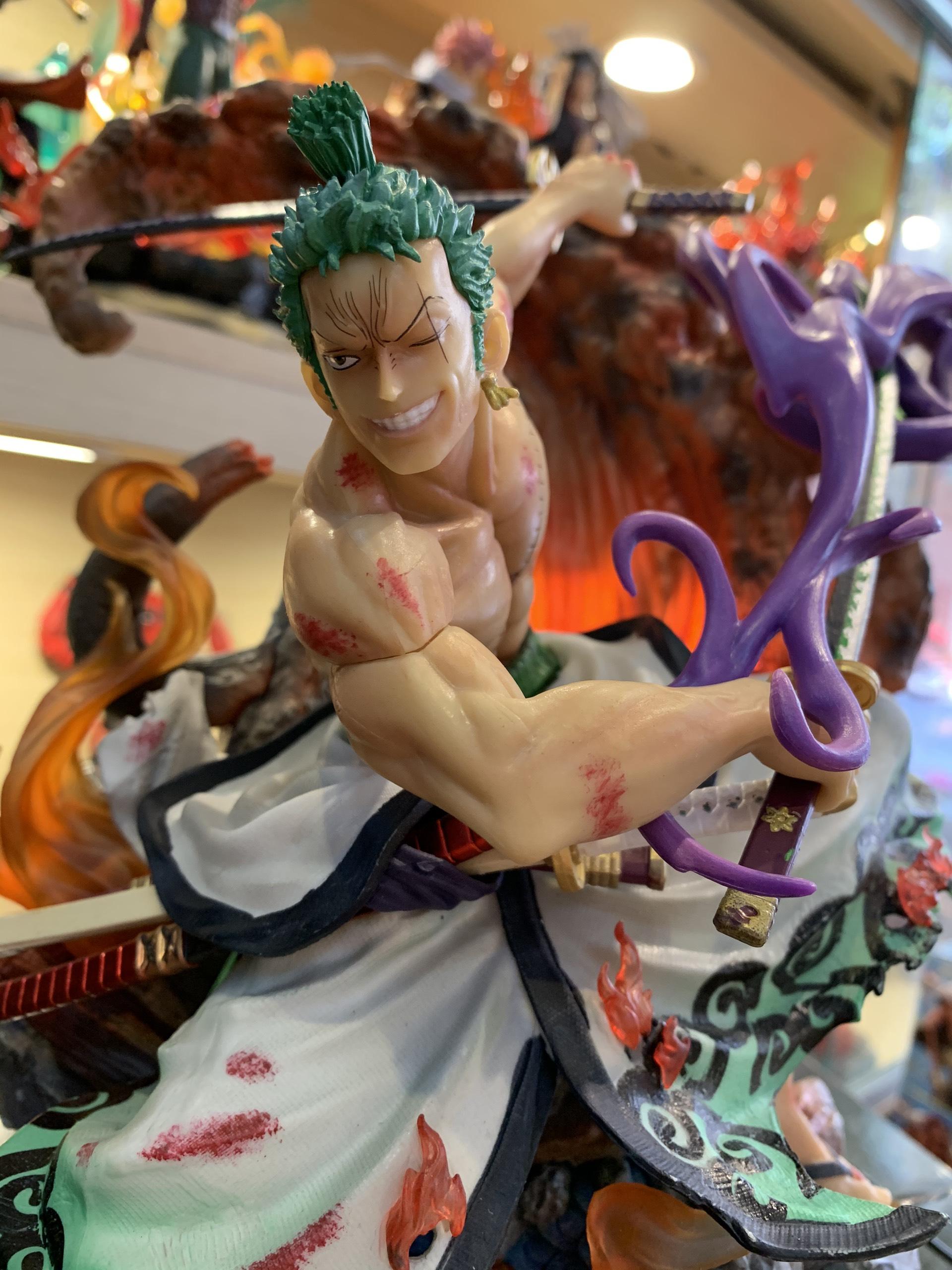 Mô Hình One Piece Zoro haki Enma Vs Kaido 38Cm