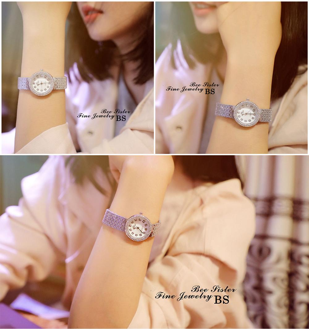 Đồng hồ nữ ROMATIC Mặt Xà Cừ Nhỏ Xinh Sang Trọng - Máy Nhật cao cấp - Tặng Kèm Pin ĐH Dự Phòng 9