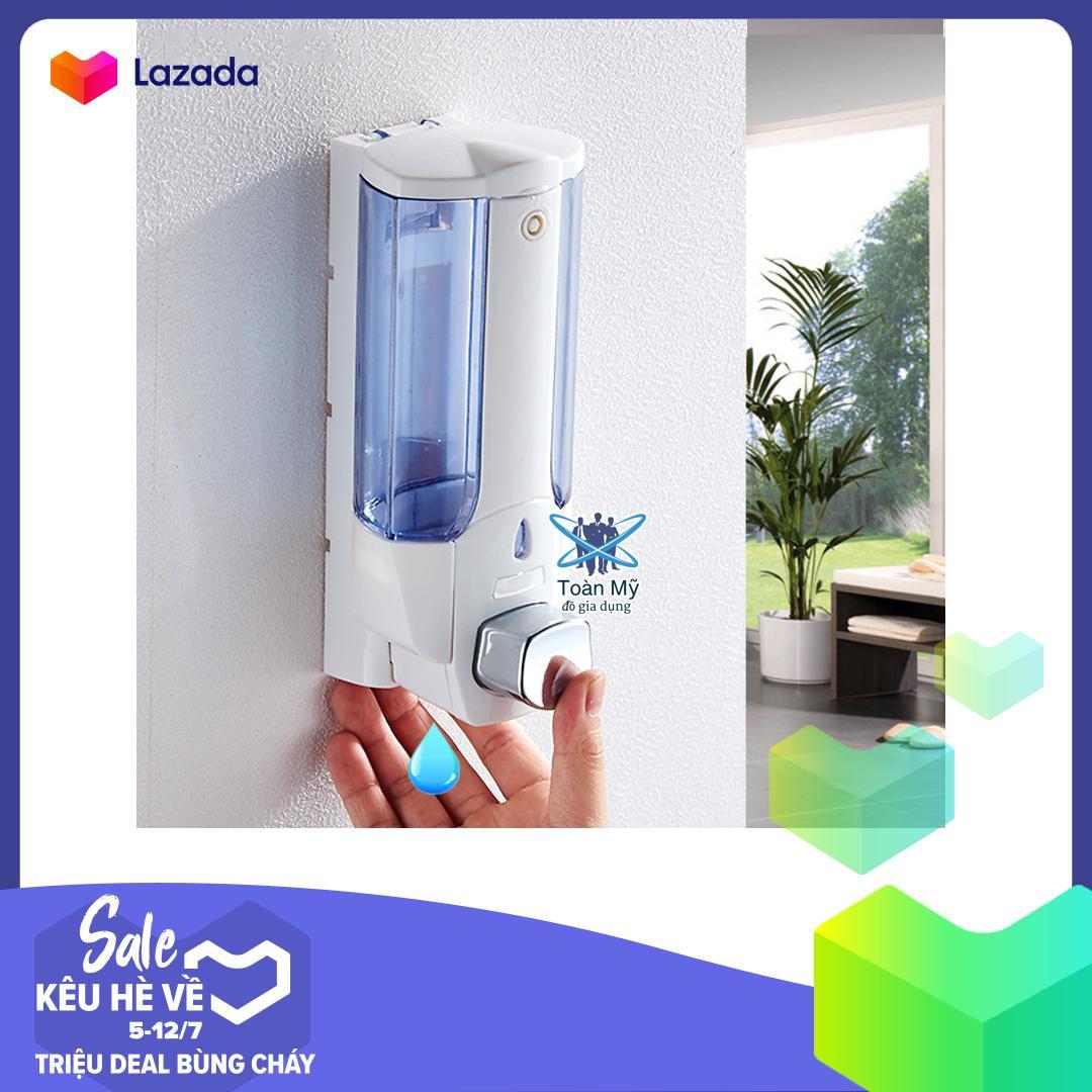 Hộp đựng nước rửa tay, xà phòng, dầu gội treo, gắn tường Xinda ZYQ-138 - 350ML, nhựa ABS bền, chống va đập