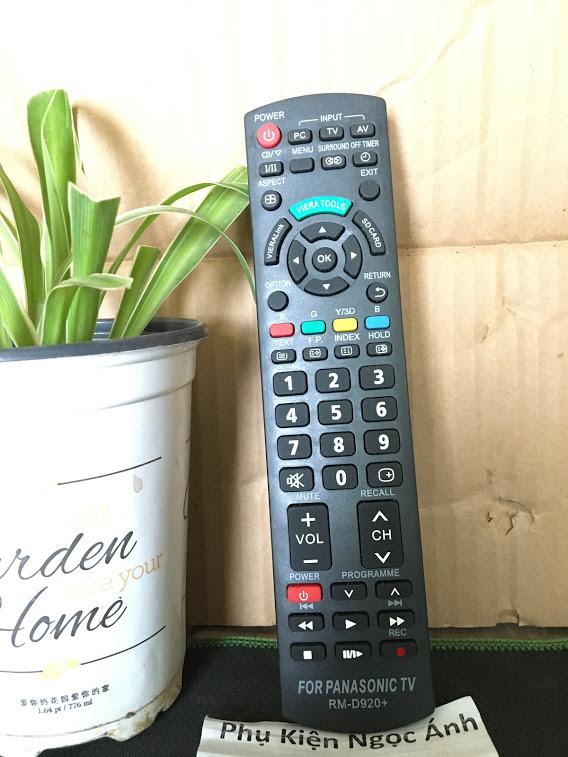Điều Khiển TiVi Panasonic RM-D920 loại tốt thay thế khiển zin theo máy - tặng kèm pin chính hãng - Remote Panasonic D920 - Remote tivi Panasonic RM-D920 đầu bấm tivi loại tốt chất lượng ổn thay thế khiển theo máy - Bảo hành 3 tháng 7