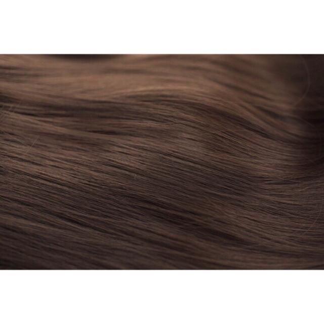 Tóc giả nữ kẹp FREESHIP kẹp thẳng dài 60cm 4