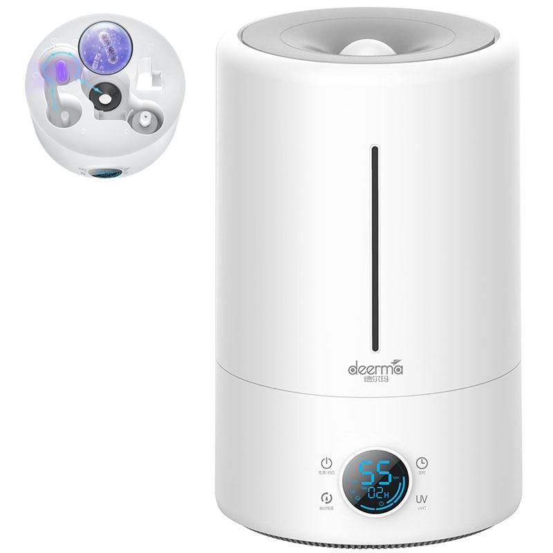 Đèn xông tinh dầu kiêm máy tạo độ ẩm xiaomi,Máy phun sương trong nhà,Máy tạo độ ẩm phòng ngủ, Máy phun sương, Máy tạo ẩm thông minh Deerma F628S, tốt cho sức khỏe, dễ dàng sử dụng