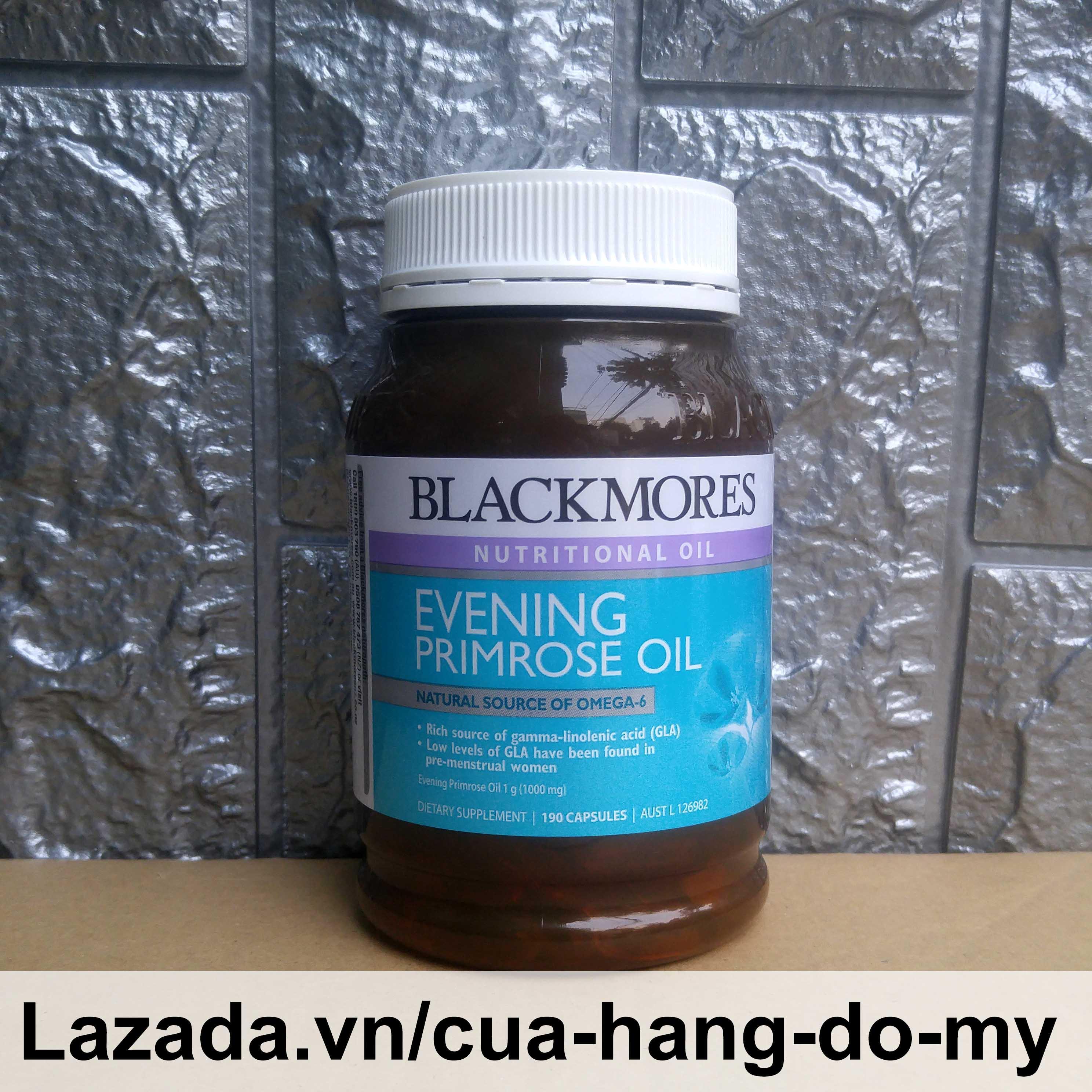 Tinh Dầu Hoa Anh Thảo Blackmores Evening Primrose Oil 190 Viên Nang - Hỗ trợ tăng cường sức khỏe