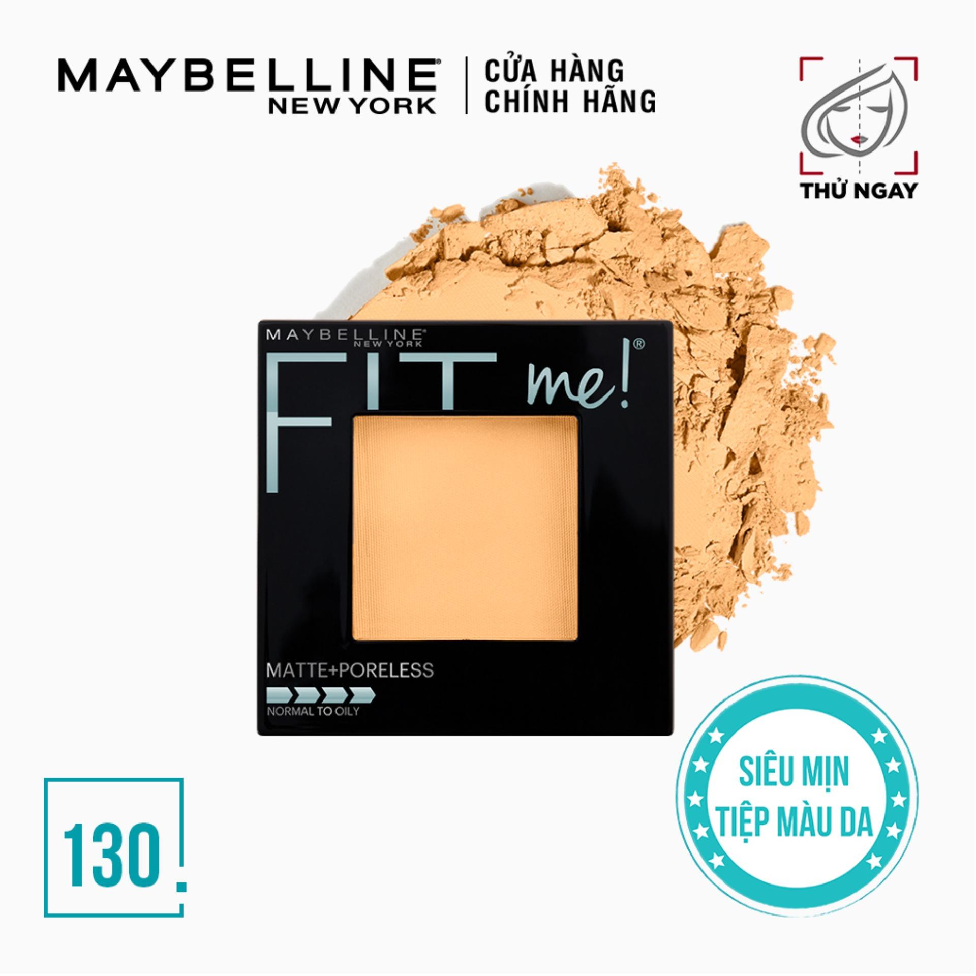 Phấn Phủ Mịn Nhẹ Kiềm Dầu Fit Me Matte Poreless Powder Maybelline New York 8.5g