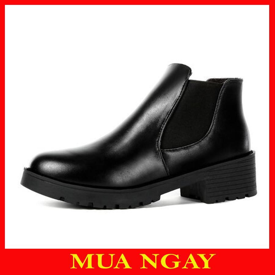 Boots Da BT1 Cổ Chun Cho Nữ_Minisu