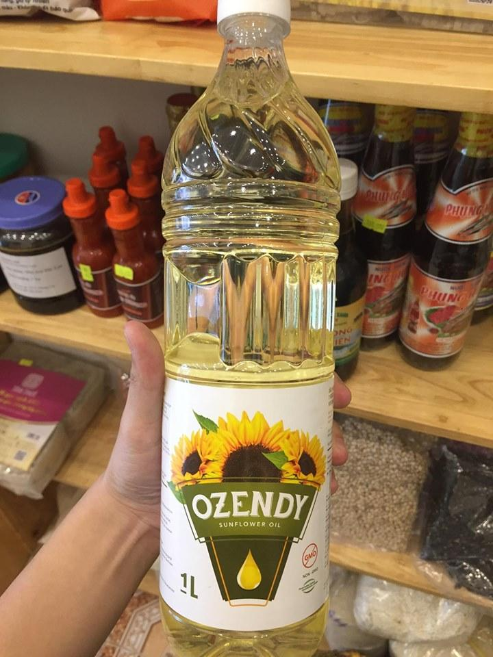 Ozendy cooking oil
