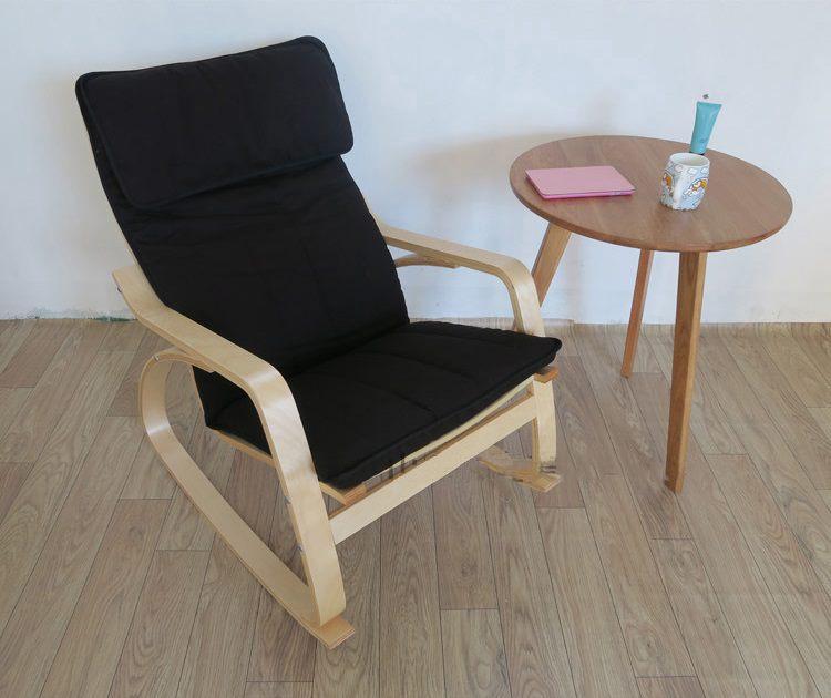 Ghế bâp bênh Poang Rocking Chair