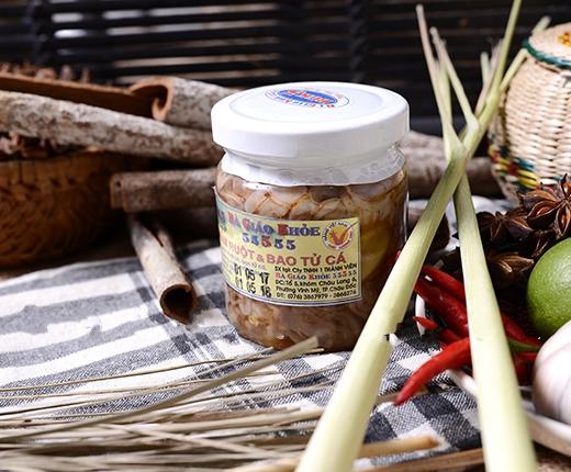 Hình ảnh Mắm ruột và bao tử cá Bà Giáo Khỏe 5555 hủ 220gr đặc sản Châu Đốc thơm ngon Không sử dụng hóa chất phẩm màu độc hại