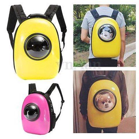 HCM -Balo– Túi vận chuyển chó mèo – Ba lô phi hành gia nhựa ( 4711814) vật nuôi có trọng lựơng dưới 6kg-HP10854TC