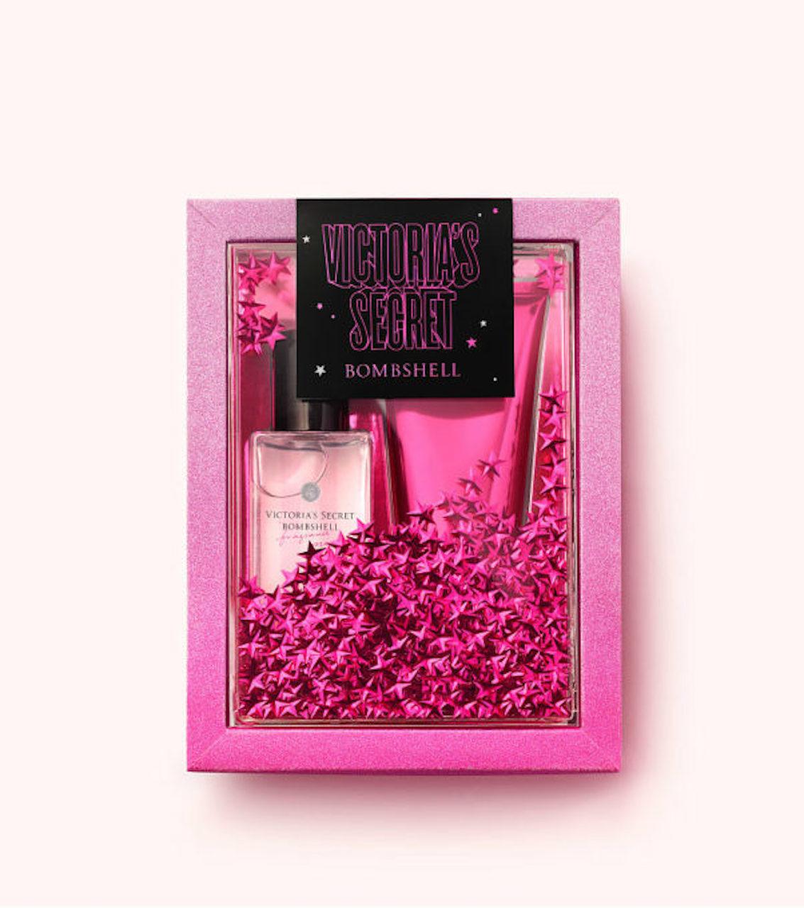 Bộ giftset Victoria's Secret 75ml mist & 100ml lotion - Bombshell (Mỹ)